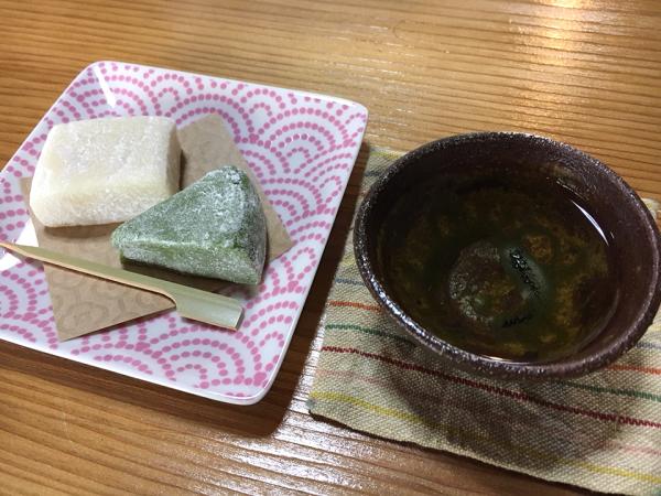 郷土菓子づくり体験