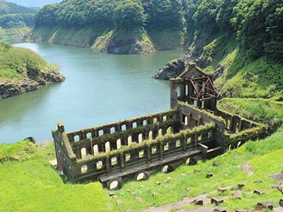 曽木の滝発電所遺構
